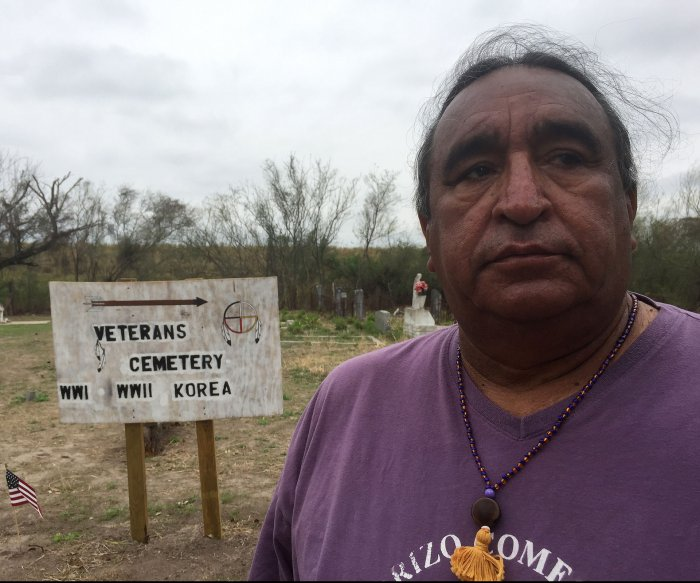 Native American tribe fears border wall will destroy historic cemetery
