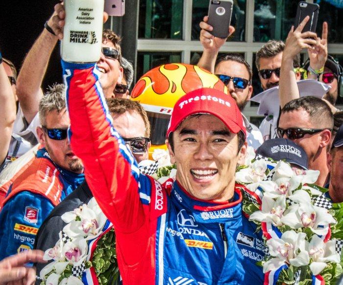 Takuma Sato wins Indy 500