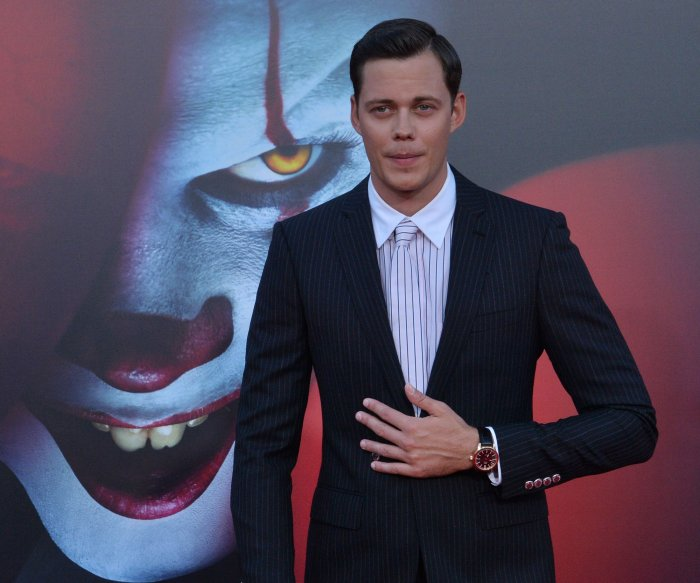Bill Skarsgard, Jessica Chastain attend 'It Chapter Two' premiere