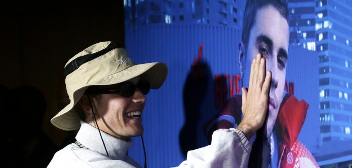 Justin Bieber attends documentary screening of 'Justin Bieber: Our World'