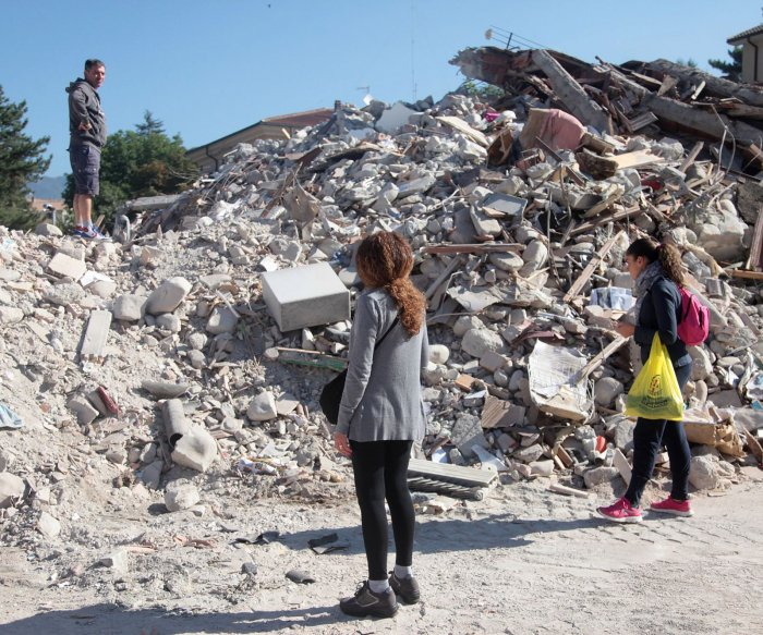 Communities left in ruins after earthquake rocks central Italy