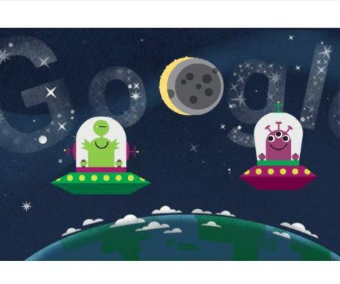 Google celebrates solar eclipse with new Doodle