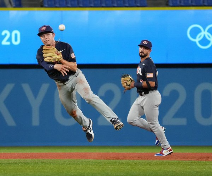 Team USA baseball beats South Korea, earns top seed for Olympic knockout round