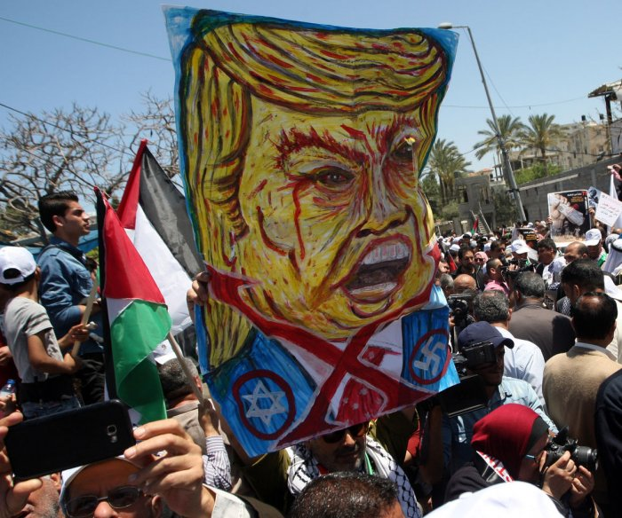 Trump's Mideast peace plan met by Palestinians with heavy skepticism