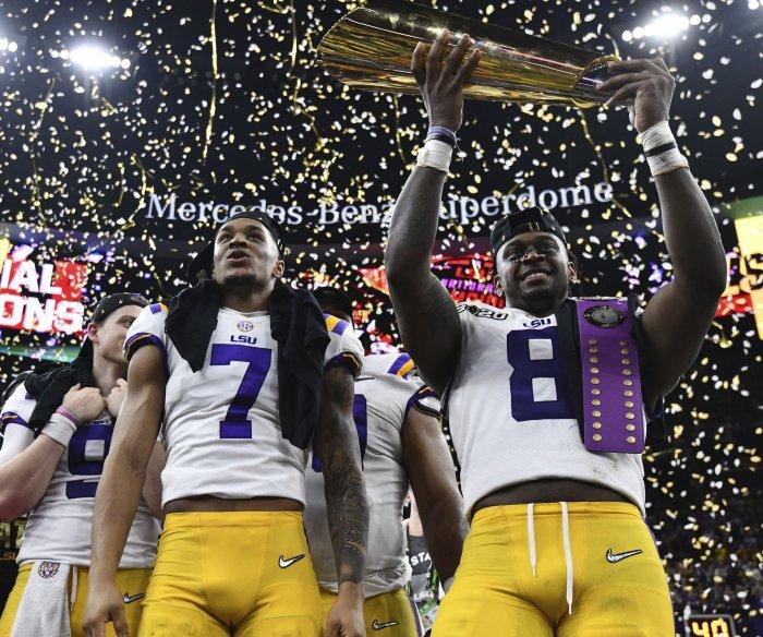 LSU wins College Football Playoff National Championship