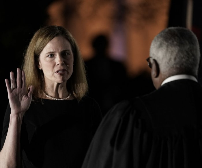 Amy Coney Barrett confirmed, sworn in as Supreme Court justice