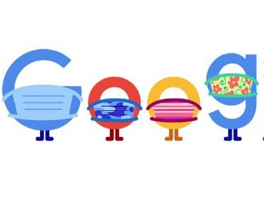 Google promotes wearing a mask in new Doodle