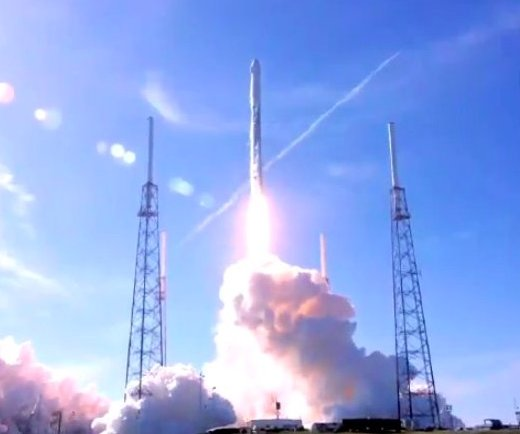 SpaceX launches, lands previously used rocket booster, cargo ship