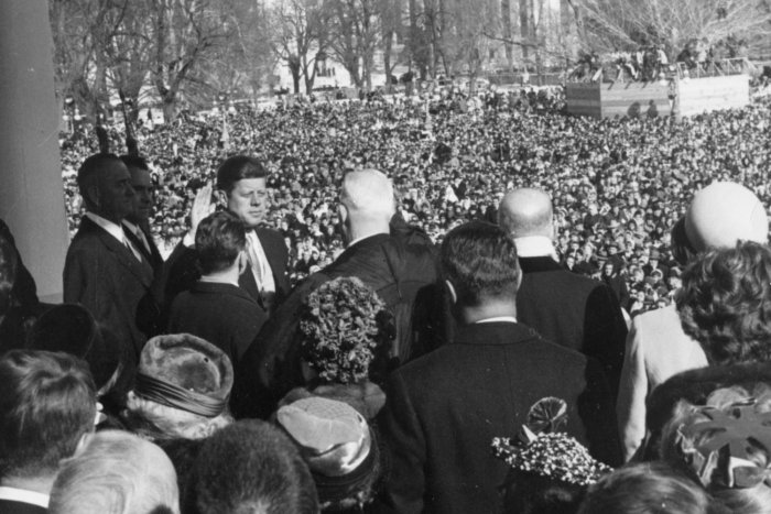 Presidential inaugurations through the years