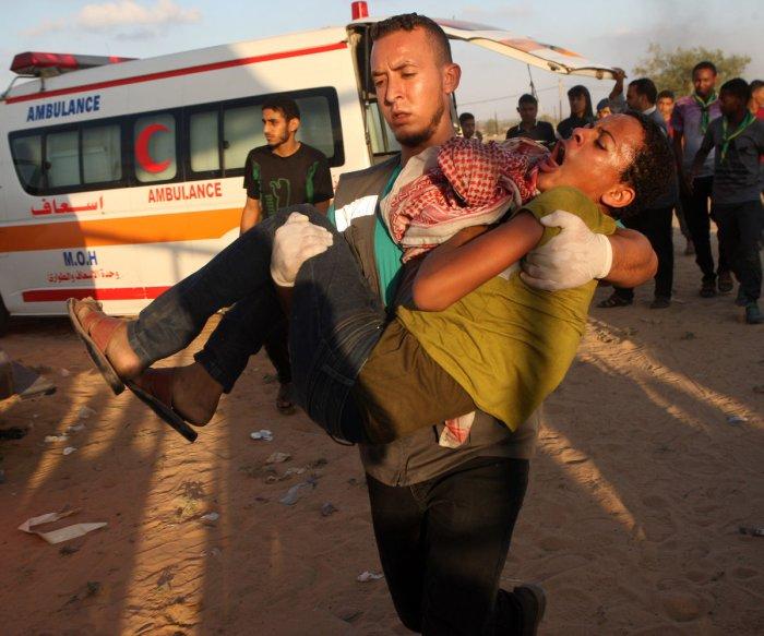 4 Palestinians dead in Israeli airstrikes on Gaza Strip