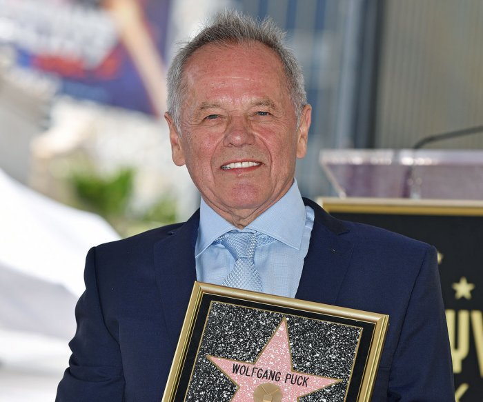 Wolfgang Puck honored with a star on the Hollywood Walk of Fame