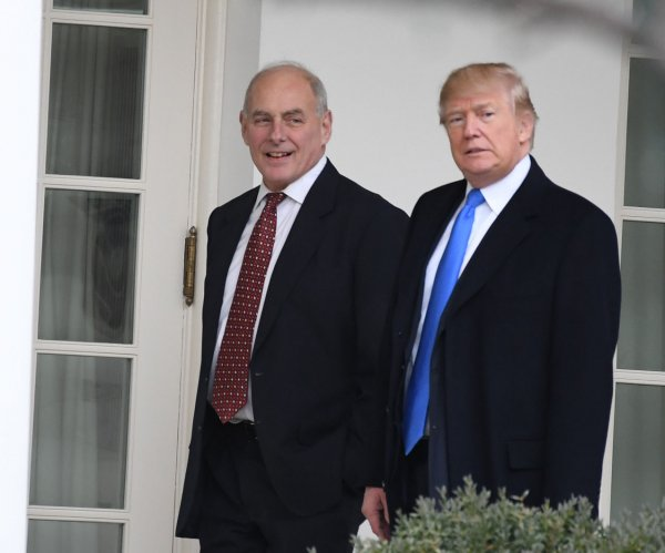 Trump responds to Kelly's dismissal of border wall promise: 'The Wall is the Wall'