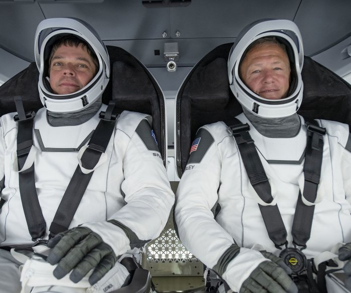 NASA astronauts to test new SpaceX capsule, execute spacewalks
