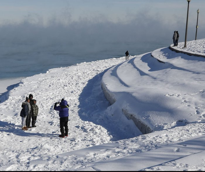 Climate change: Winters of future will be colder -- and also warmer