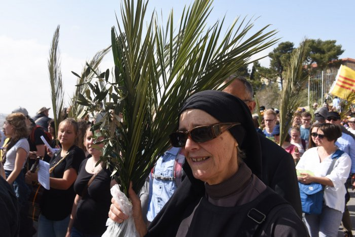 Jerusalem celebrates Palm Sunday
