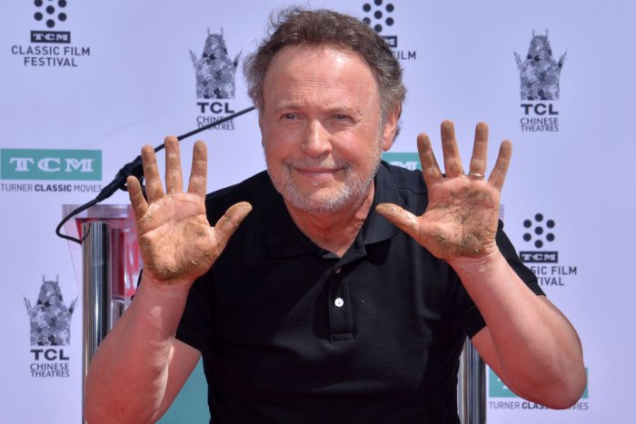 Billy Crystal honored at Hollywood handprint ceremony