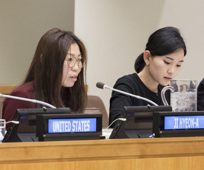 North Korea camp survivor says guilt haunts her in South