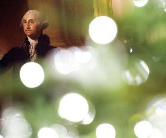 White House Christmas decor celebrates 'America the Beautiful'