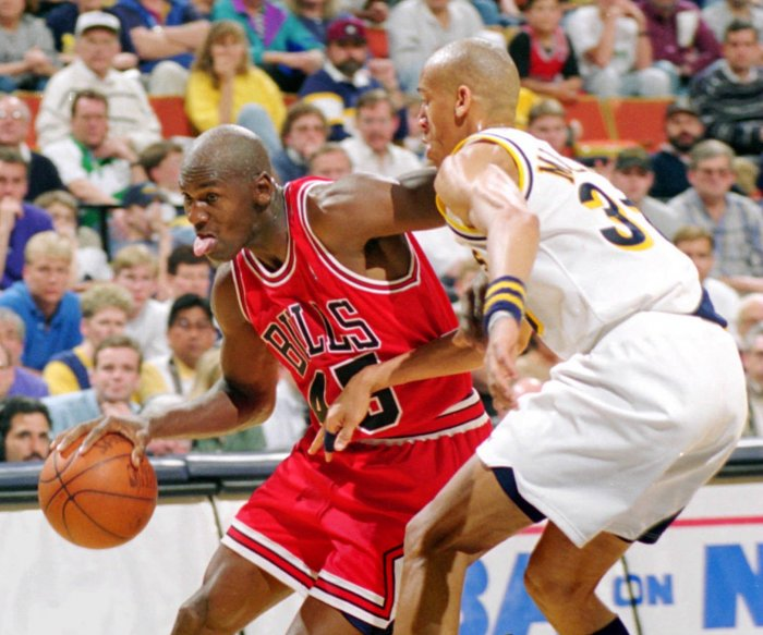 Moments from Michael Jordan's career