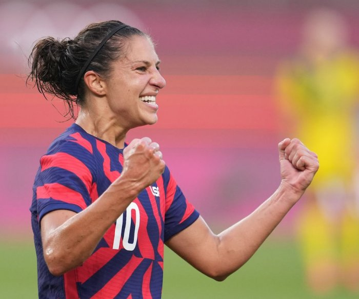 Rapinoe, Lloyd lead U.S. women over Australia for Olympic bronze in soccer