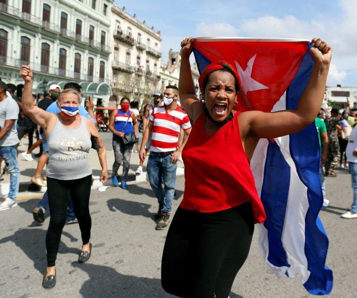 North Korea accuses U.S. gov't of plotting to stoke unrest in Cuba