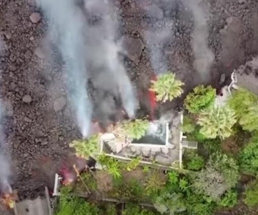 Lava from La Palma eruption has burned almost 400 structures