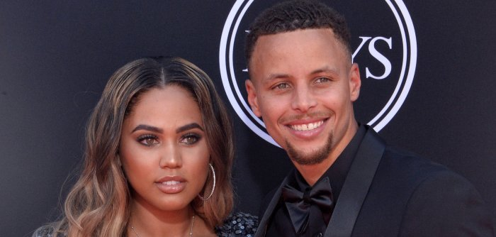 On the red carpet at the 2017 ESPYS in Los Angeles