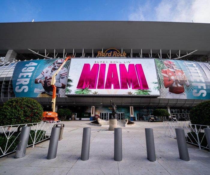 Miami prepares for Super Bowl LIV