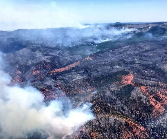 Utah wildfire grows to 50K acres as containment stalls
