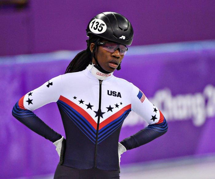 U.S. Olympian Biney: Hard to follow advice from Simone Biles