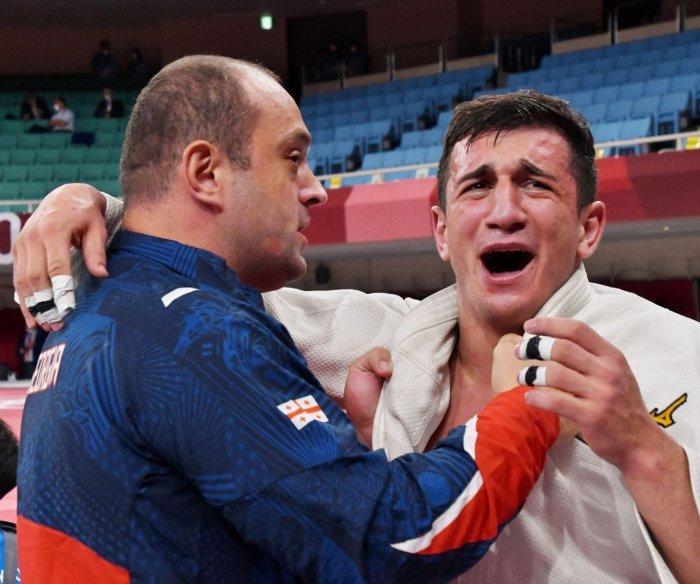 Tokyo Olympics: Moments from judo