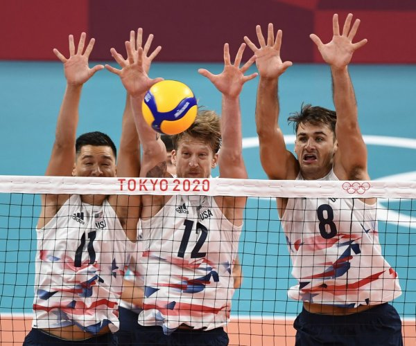 Tokyo Olympics: Moments from men's volleyball