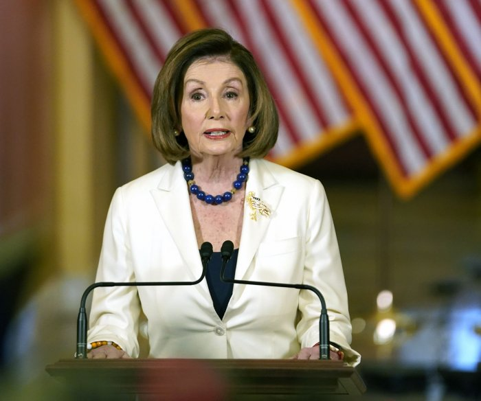 House Speaker Pelosi asks for articles of impeachment against Trump