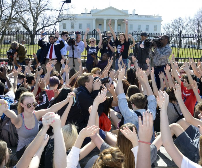 Colleges: Suspensions for protesting guns won't hurt admission chances