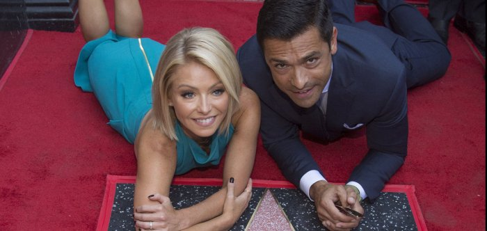 Kelly Ripa receives star on the Hollywood Walk of Fame