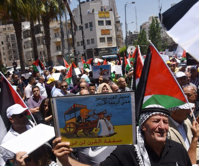 Palestinians reject U.S. Mideast peace plan as 'snow job'