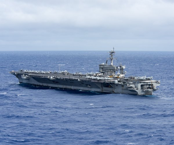 U.S. Navy deploys aircraft carrier to South China Sea