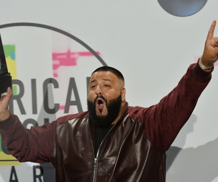 DJ Khaled, Keith Urban win at the AMAs