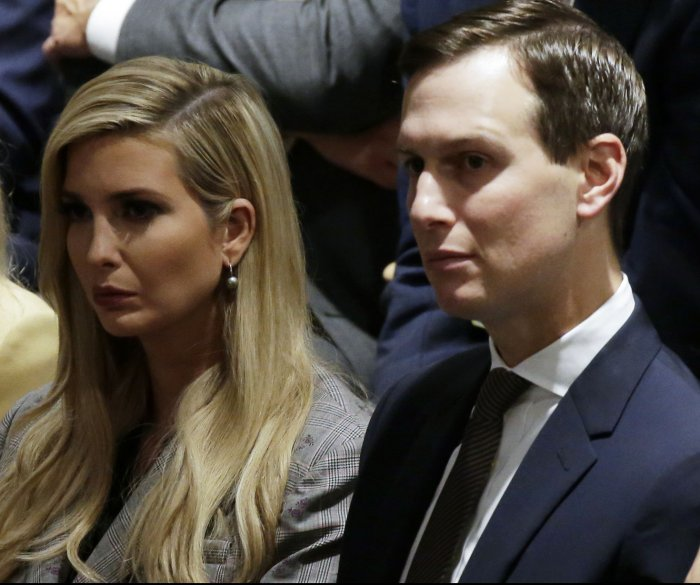 Lawyer: Jared Kushner, Ivanka Trump violate records law