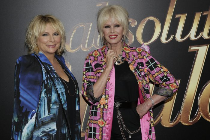 On the red carpet at the New York City premiere of 'Absolutely Fabulous: The Movie'