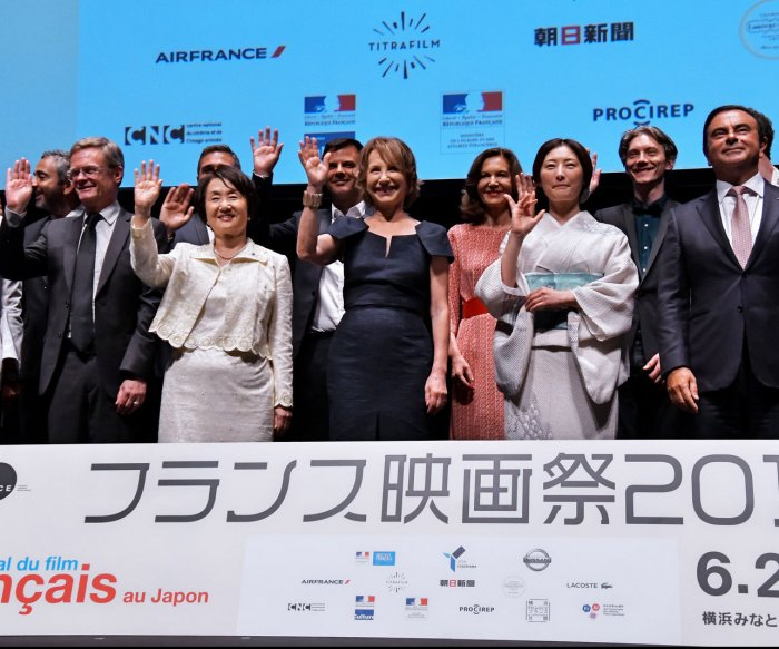 Moments from the French Film Festival in Yokohama, Japan