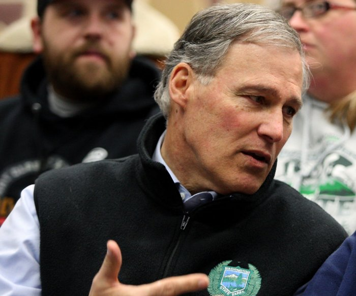 Jay Inslee unveils 5-point plan to fight climate change