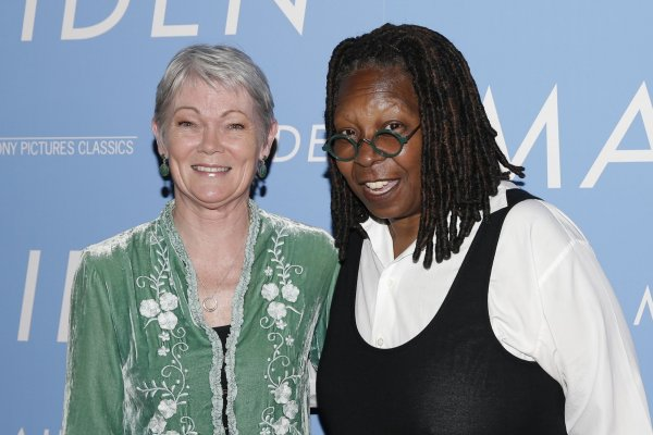 Tracy Edwards, Whoopi Goldberg attend the 'Maiden' premiere