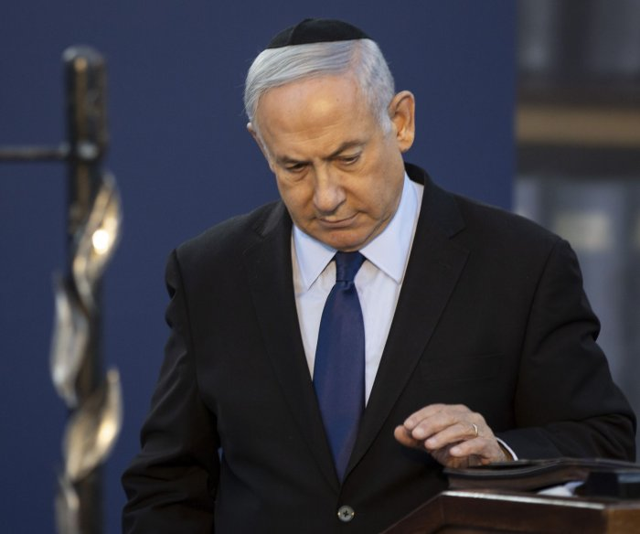 Prosecutors charge Israeli PM Benjamin Netanyahu with fraud