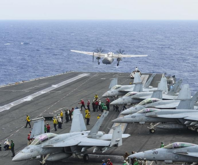 8 rescued, 3 missing after U.S. Navy plane crashes off Japan