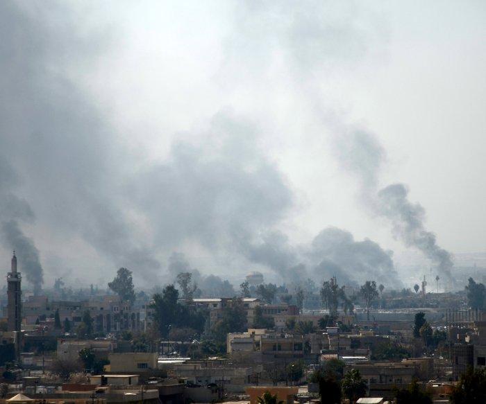 U.S. investigating Mosul airstrikes that killed hundreds of civilians