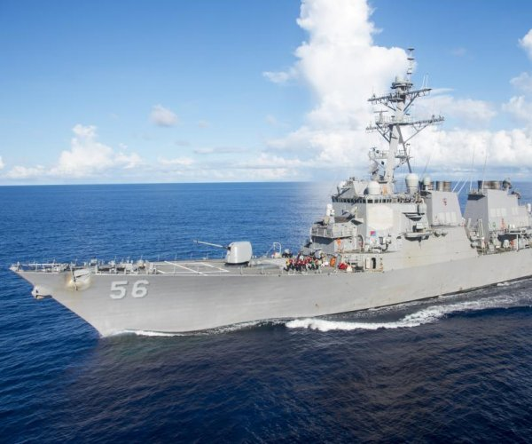 U.S. Navy warship collides with oil tanker near Singapore