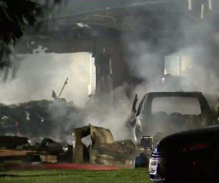 Plane crashes into California homes killing 3