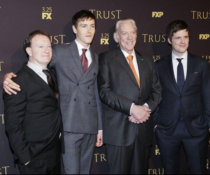 Donald Sutherland, Brendan Fraser attend 'Trust' screening in New York City