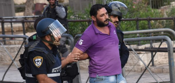 Tensions increase at stabbing site in Jerusalem